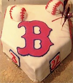 Red Sox Grooms Cake maybe?
