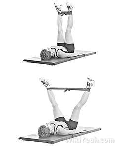 Exercises To Get Rid Of Cellulite Fast - V-Leg Pull