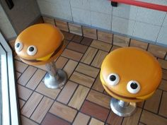 McDonald's kids seats from the 90's