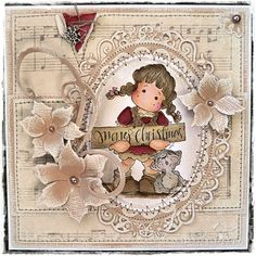 Good Morning,   It's time for another fab challenge over at Just Magnolia   and this week we want to see . . .     Die Cuts & Pearls     A...