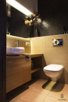 Nowoczesna łazienka, pomysły na łazienkę, aranżacja łazienki, projekt łazienki. Zobacz więcej na: https://www.homify.pl/katalogi-inspiracji/38255/nowoczesne-lazienki-10-inspiracji