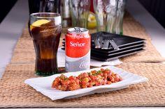 Tartar de atún con mojo picón canario:  Atrévete dándole a las recetas clásicas un toque más exótico. Estaban destinados a encontrarse: el tartar de atún con el mojo picón canario. ¡Qué delicia!   #SienteElSabor #ComparteCocaColaCon #CocaCola #Recetas #Consejos  https://youtu.be/kKdZ-iFHUm0