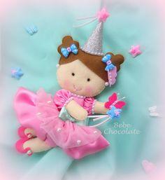 keçe cadı, felt fairy, safari kapı süsü, keçe peri, felt fairy, bebek doğum…
