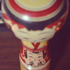 """@d884x's photo: """"平成ですね。 #こけし"""""""