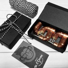 Koperbuis kapstok haken set 6 stuks Deco, Gift Wrapping, Gifts, Pipes, Gift Wrapping Paper, Presents, Wrapping Gifts, Decor, Deko
