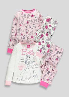 7a1cd17e34ca Kids 2 Pack Disney Minnie Mouse Pyjamas (3mths-5yrs) – Pink. Disney  Princess BabiesBaby ...