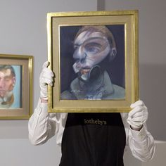 On offer during tonights Contemporary Art Evening Auction in #London are works by artists including Francis Bacon Andy Warhol Jean-Michel Basquiat and Lucian Freud. Click the link in our bio and tune in at 7:00 pm GMT to watch the sale live! #SothebysContemporary