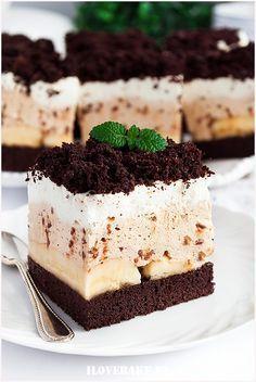 Banana coffee cake - I Love Bake Brownie Recipes, Cookie Recipes, Dessert Recipes, Easy Desserts, Delicious Desserts, Banana Coffee Cakes, Best Chocolate Desserts, Easy Baking Recipes, Sweets Cake
