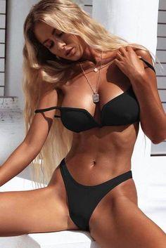 Sexy Underwire Swimwear Women Push Up Bikinin Swimsuit Bikini Set Lady Luxury Bathing Suit Bikini Beach Wear Maillot De Push Up Swimsuit, Bikini Set, Bikini Beach, Bikini Swimsuit, Thong Bikini, Mini Bikini, Underwire Swimwear, Sexy Women, Jolie Lingerie