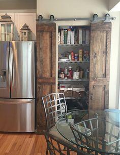 The Barn Door Hardware Store - Top Mount Sliding Barn Door Hardware Kit, $149.00 (https://thebarndoorhardwarestore.com/sliding-barn-door-hardware-kit-top-mount-interior-door)