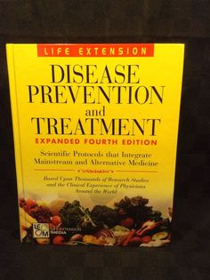 Disease Prevention and Treatment Expanded Fourth Edition Hardcover Book Life  #Textbook