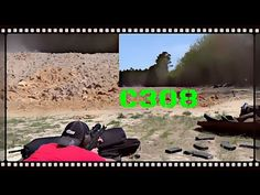 Shooting The Century Arms C308 Sporter Rifle At 200 Yards (HD)