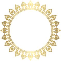 Circle Borders, Borders And Frames, Borders Free, Floral Frames, Round Border, Photo Frame Design, Flower Background Wallpaper, Gold Picture Frames, Circle Monogram