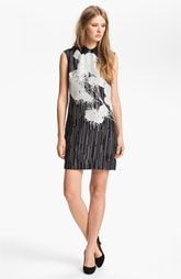 @$495 cute dress. Miss Wu Floral Print Silk Dress (Nordstrom Exclusive) available at Nordstrom.