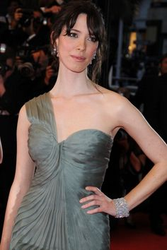 Actress Rebecca Hall attends the 'Vicky Cristina Barcelona' premiere at the Palais des Festivals during the 61st Cannes International Film Festival...