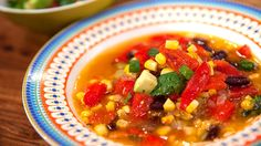 Mexican Corn Soup with Crushed Avocado - Good Chef Bad Chef - Recipe Detail
