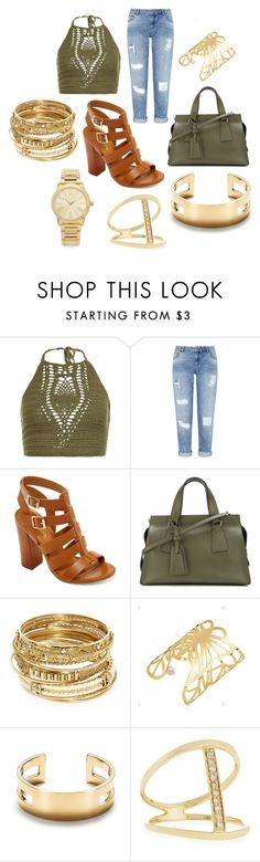 """""""ideas"""" by hannahleighhh on Polyvore featuring New Look, Miss Selfridge, Bamboo, Giorgio Armani, ABS by Allen Schwartz, Tiffany & Co., Sydney Evan and Michael Kors"""