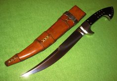 W.W. Wood Custom Persian Fighting Knife #WWWood