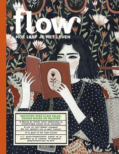 The world of Flow - Flow Magazine Grafik Magazine, Magazine Art, Retro Illustration, Illustrations, Cool Diy, Editorial Design, Complicated Image, Magazin Covers, Book Images