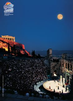 These posters, marking 100 years of what is now the Greek National Tourism Organisation, highlight the country's winning combination of culture, charm and sunshine