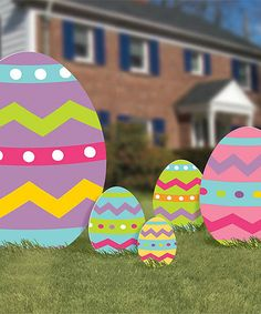 Easter Egg Sign Set