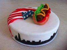 Chicago style hotdog cake - Torte per Tutti