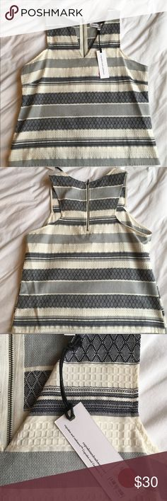 (NWT) CUPCAKES & CASHMERE Top NEW with tags- Cupcakes & Cashmere Top. Nice, thick material + zipper in back! cupcakes & cashmere Tops