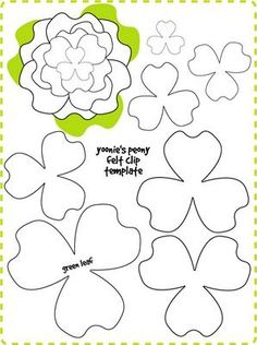 This is one of the prettiest felt flowers to make and it comes with awesome pictorial tutorial and template from Yoonie who lives in Malaysia and her blog is called yoonie-at-home. The template …