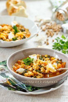 POTINGUES Y FOGONES: Potaje de garbanzos (Receta tradicional de Cuaresma)