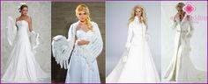 Bruiloft capes en bontjassen - hoe je je eigen handen, patroon, foto maken