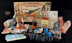 Image result for marx cape canaveral playset
