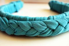 Make a braided headband.