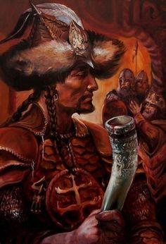 Hunnic Khagan, Turk Character Concept, Concept Art, Hungary History, Strategy Games, Fantasy Warrior, Moorish, American Revolution, Middle Ages, North America