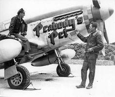 USAAF - North American P-51B-15-NA Mustang - Serial # 42-106854 Peabody's Pet