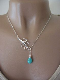 branch turquoise necklace - gorgeous!!