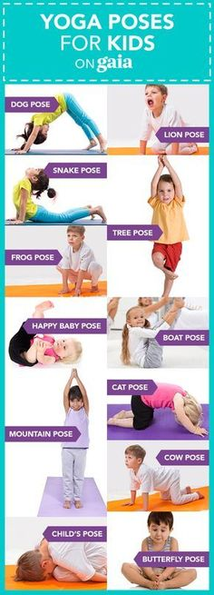 Yoga Poses for Kids #YogaPoses