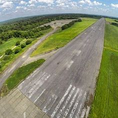 The defunct wartime buildings of Wisley Airfield in Surrey, south east England, have long since been removed. But this superb photograph by Dan James reveals the abandoned runway and hard standings that remain firmly in place.