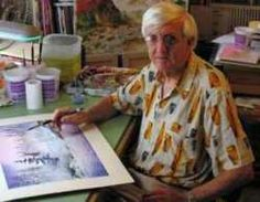 My dad...cancer survivor, watercolor artist and instructor. Watercolor classes, workshops and online classes.  Best dad ever!