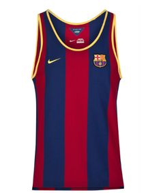 Barcelona Authentic Tank Top - Blue FC Barcelona Official Merchandise Available at www.itsmatchday.com