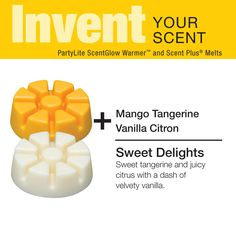 Invent Your Scent with #PartyLite Scent Plus® melts