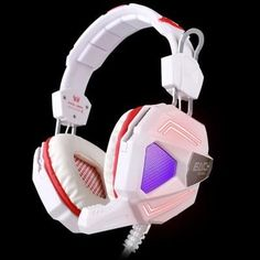KOTION EACH G5200 Gaming Headset Vibration Breathing LED Light Computer Game Headphone USB 7.1 Microphone Stereo Surround Sound