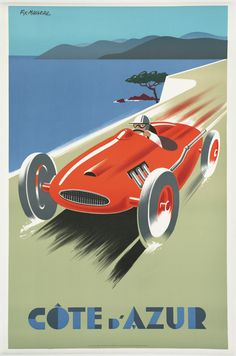 Vintage Posters from the Golden Age of Travel, 1910-1959 - Cote d'azur