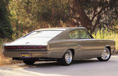 67 charger looks great in putty color