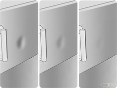 How to Remove a Dent from a Stainless Steel Refrigerator: 8 Steps