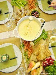 La Fondue Party: Comment organiser une bonne fondue au fromage à la maison !  #fondue #fromagefondue #fondueparty #àtable