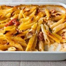 Al Forno's Penne with Tomato, Cream & Five Cheeses - VeggieFocus http...