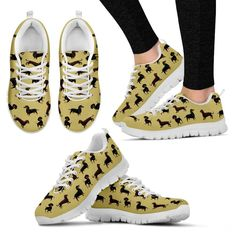 Dachshund Sneaker #dachshund Sneakers