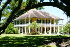 Mary Plantation, Louisiane, construite en 1795.