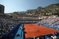 The Monte-Carlo Tennis Masters  #visitcotedazur #frenriviera #monaco
