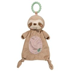 Douglas's Silly Little Sloth Teether's friendly face and safe silicone teething ring are just what Baby needs for those difficult teething days! Baby Shower Host, Baby Shower Gift Basket, Baby Baskets, Baby Shower Gifts, Baby Showers, Gift Baskets, What Baby Needs, Best Baby Toys, Baby Sloth